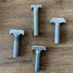 4,8 kohlenstoffarme Stahl-T-Kopfschraube