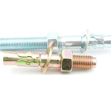 Keilanker aus verzinktem Stahl M6 bis M20