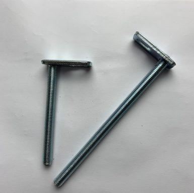 T-Bolzen-Gewindestange mit Schweißplatte