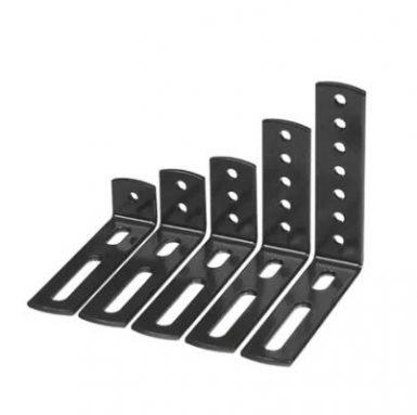 Schweißen und Stanzen von Metallbank-Regalhalterungen