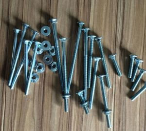 Schlittenschraube DIN603 A307