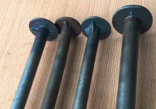 Holzschraube mit Pilzkopf